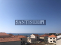 PRIVLAKA, TWO-STOREY APARTMENT 100 m2-100 M FROM THE SEA (3rd ROW)-SEAVIEW!